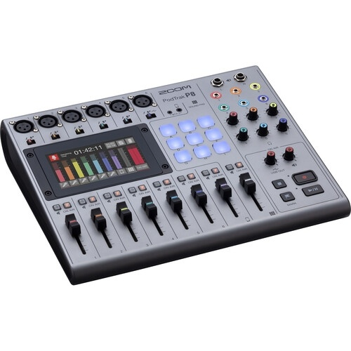 Zoom PodTrak P8 Portable Multitrack Podcast Recorder