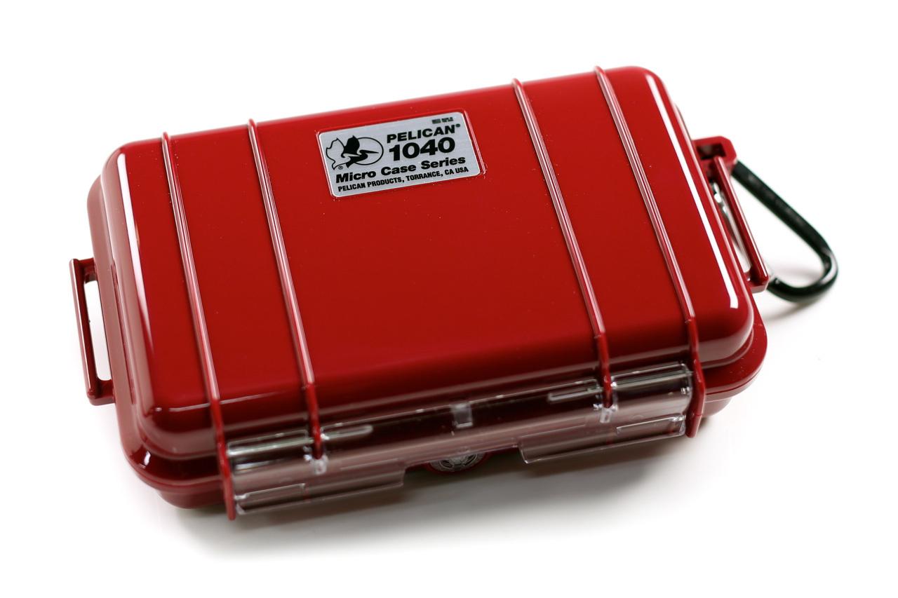 Pelican 1040 Micro Case (Red)