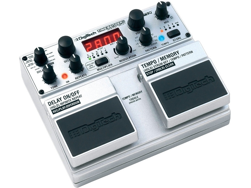DigiTech Time-Bender Effects Pedal
