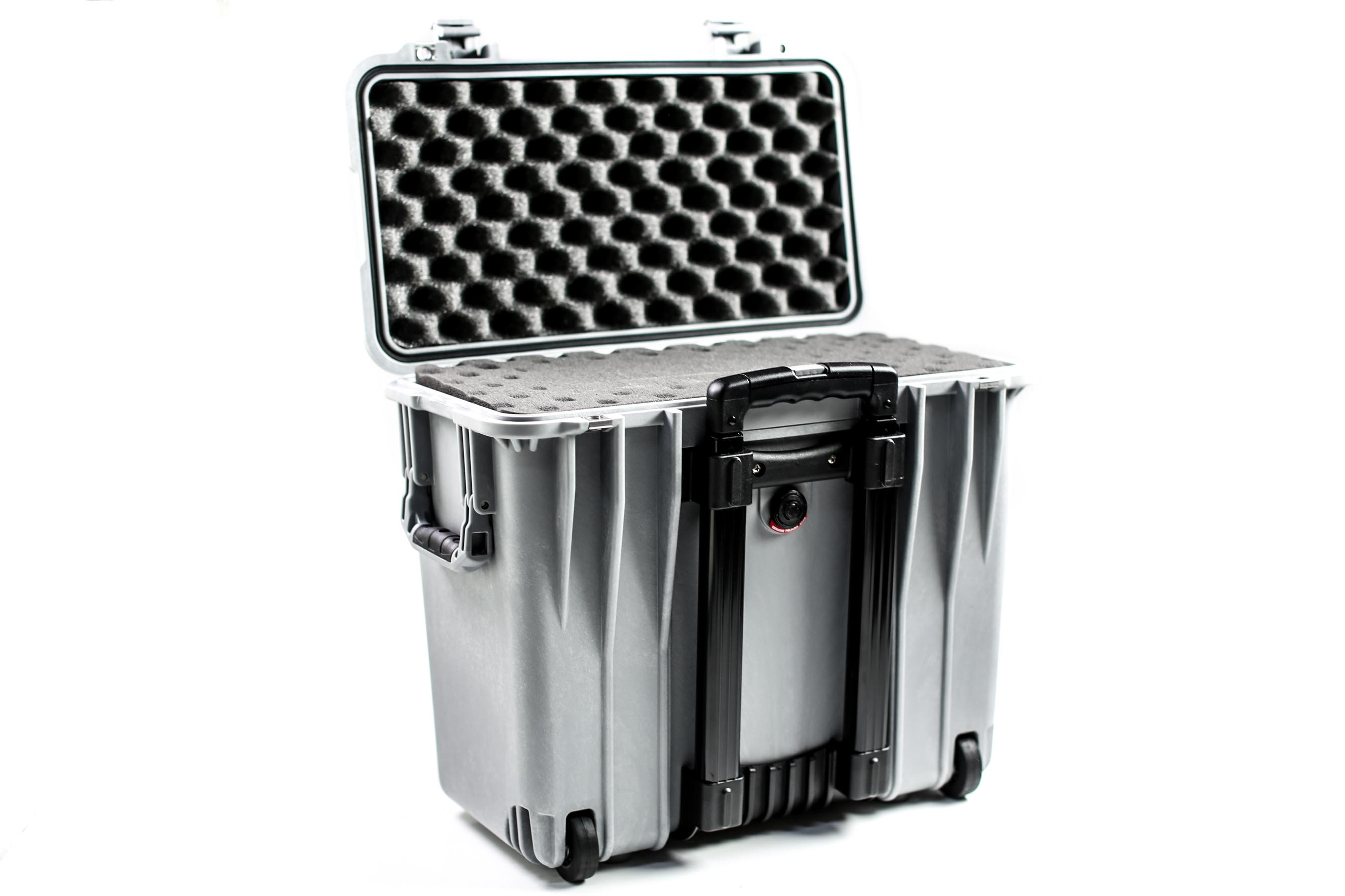 Pelican 1440 Top Loader Case (Silver)