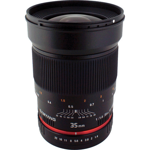 Samyang 35mm f/1.4 AS UMC Lens for Canon EF