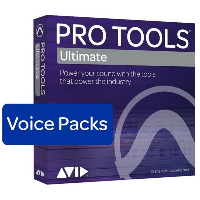 Avid Pro Tools Ultimate - 256 Voice Pack Perpetual License