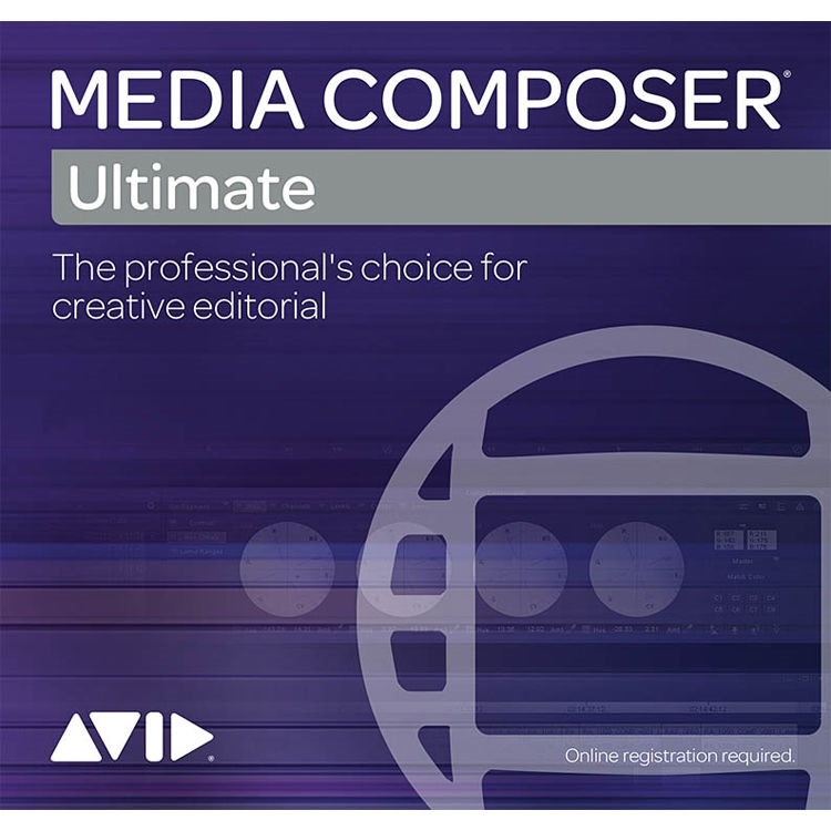 Avid Media Composer (Ultimate 1-Year Subscription, New)