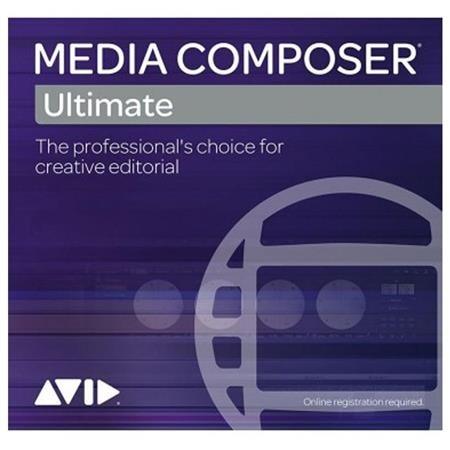 Avid Media Composer (Ultimate 1-Year Subscription, Renewal)