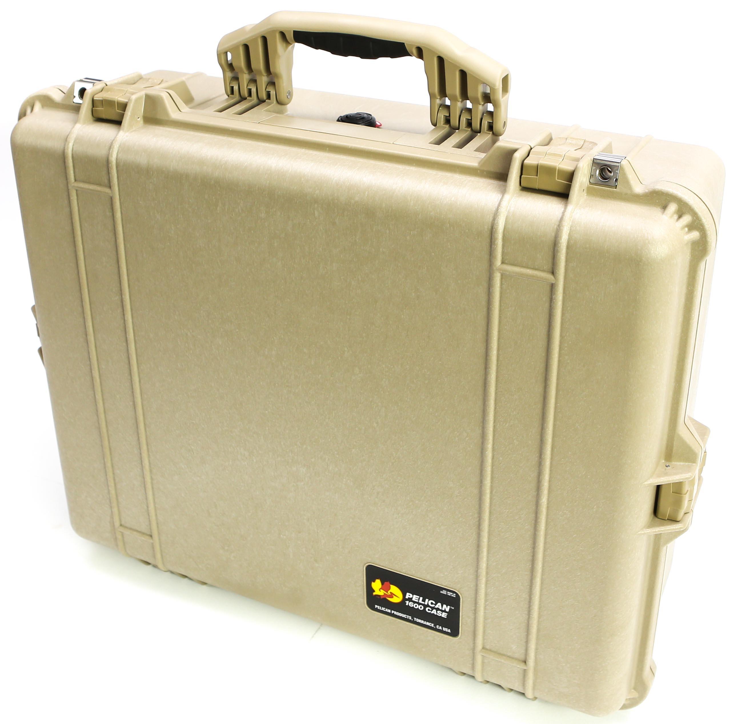 Pelican 1600 Case (Desert Tan)