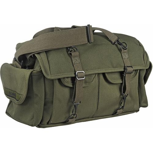 Domke F-1X Little Bit Bigger Classic Series Shoulder Bag (Olive)