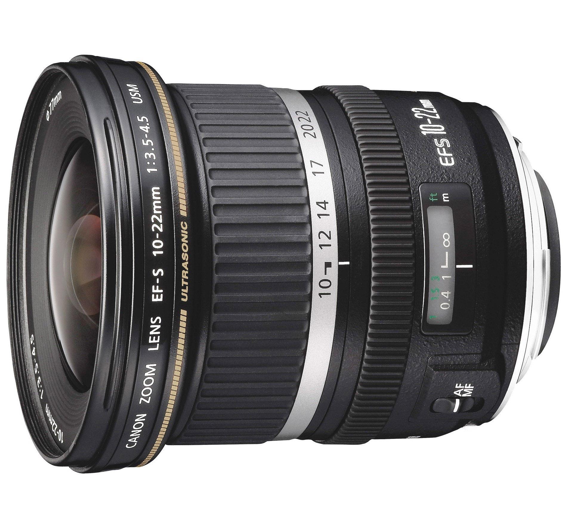 Canon EFS 10-22mm f3.5-4.5 USM Lens