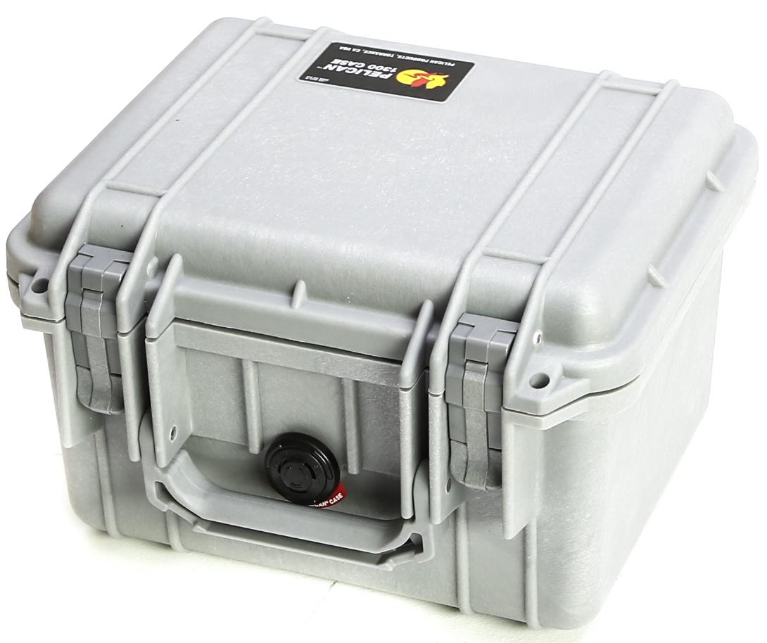 Pelican 1300 Case (Silver)