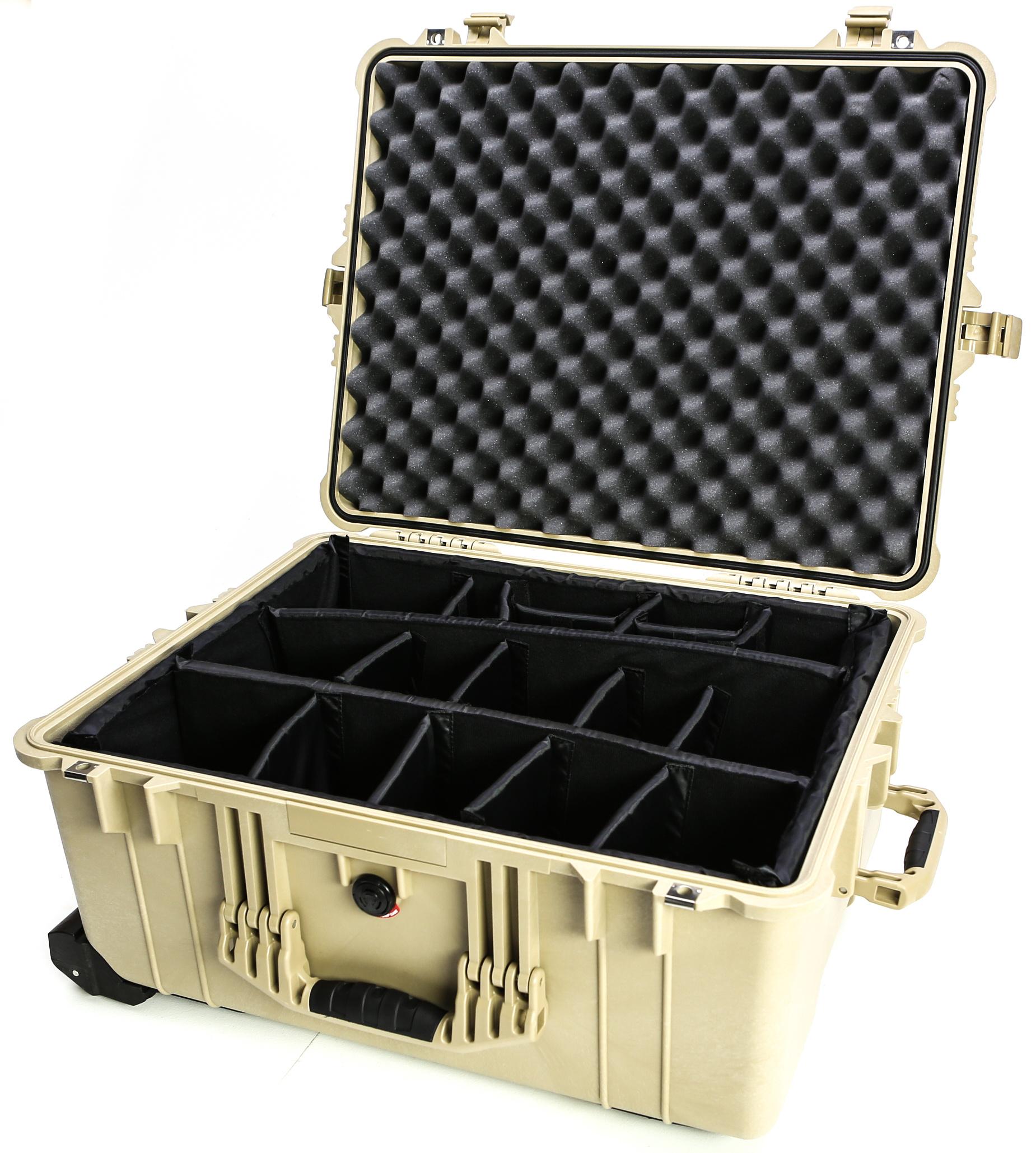 Pelican 1614 case (Desert Tan)