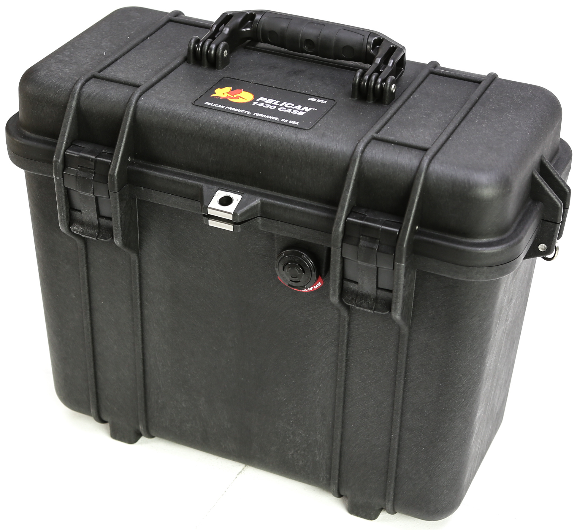 Pelican 1430 Top Loader Case with Office Dividers (Black)