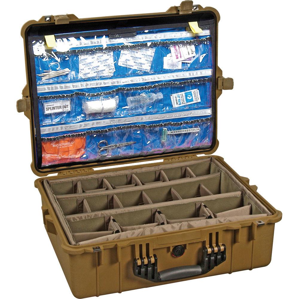Pelican 1600EMS Case (Desert Tan)