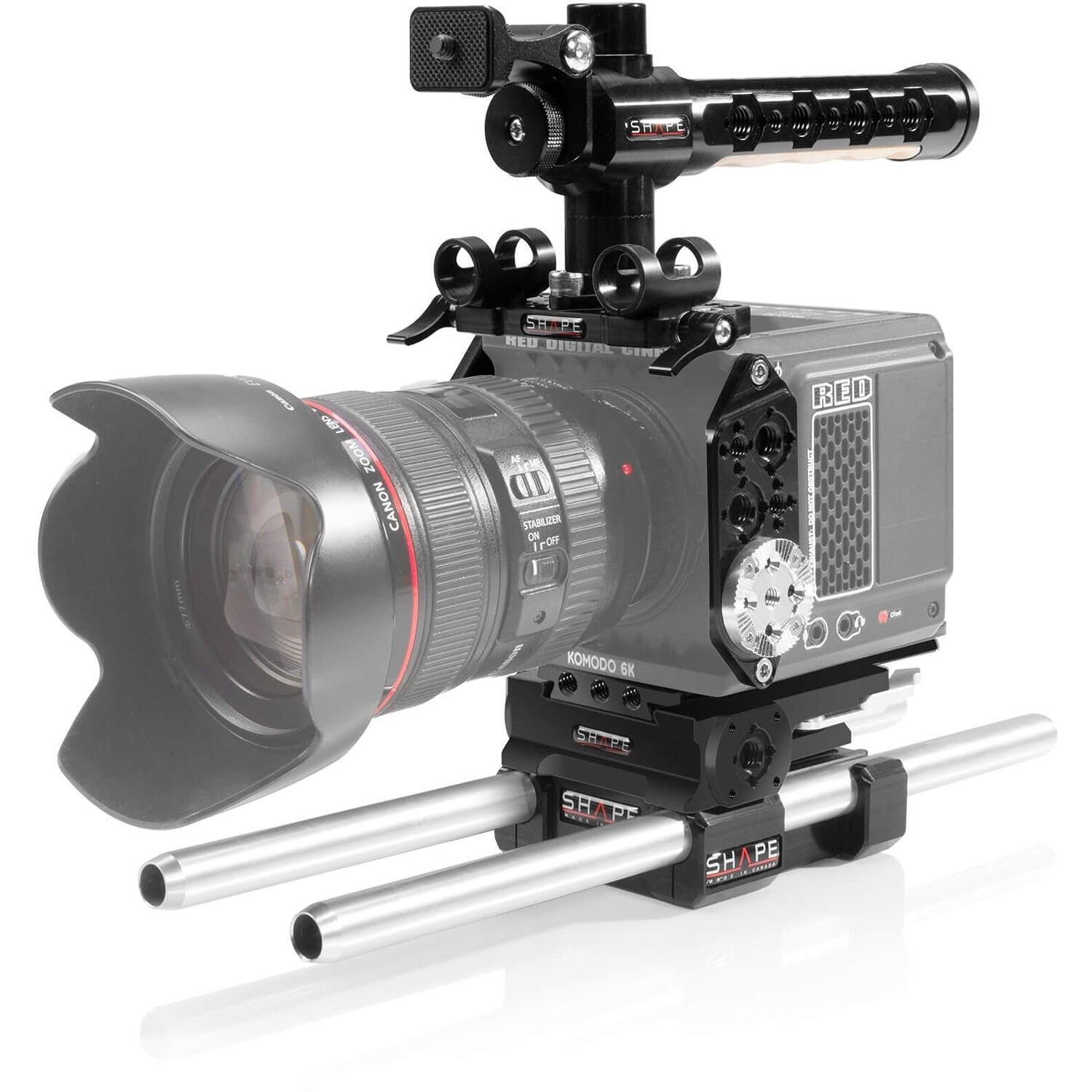SHAPE Full Camera Cage with 15mm LW Rod System for RED KOMODO