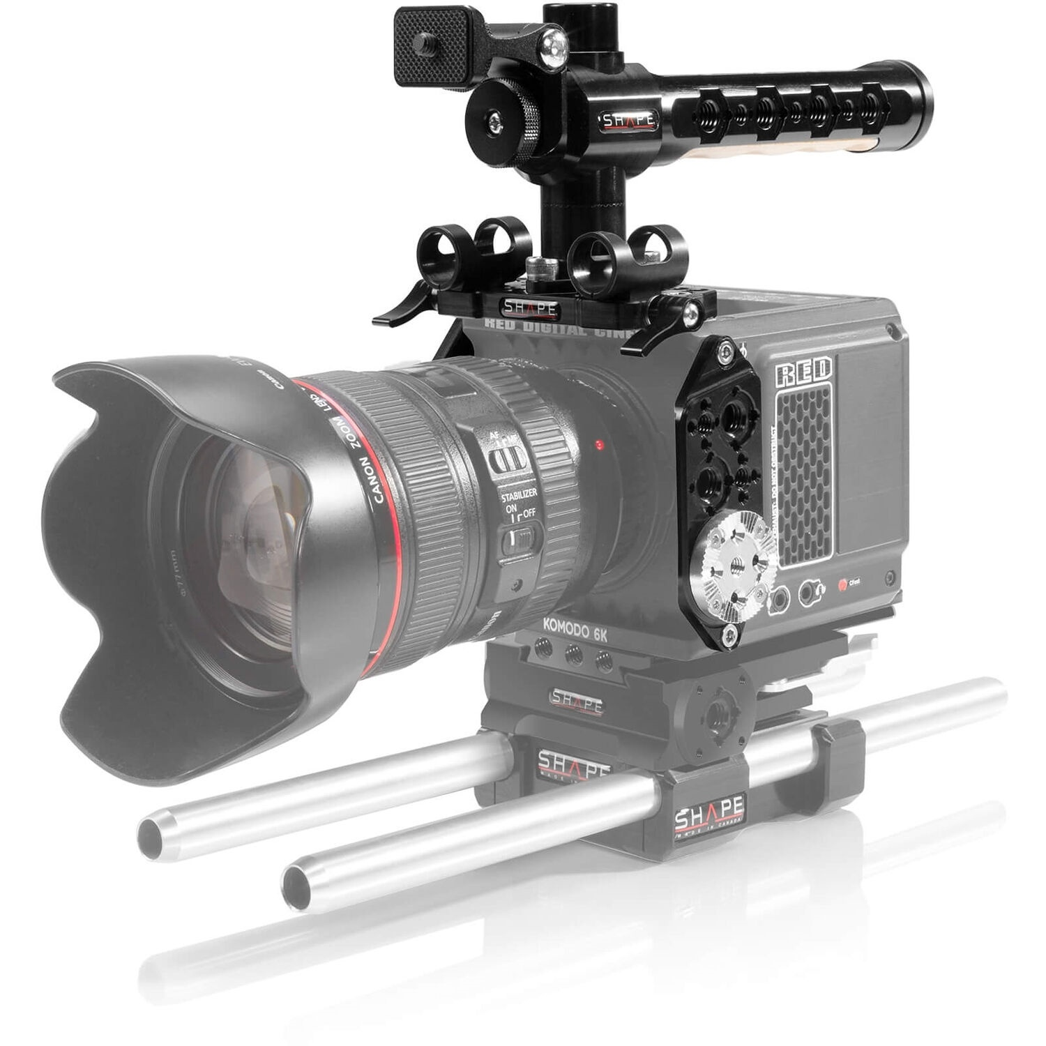 SHAPE Camera Cage with Top Handle for RED KOMODO
