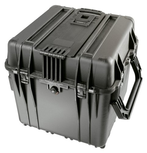 Pelican 0340 Cube Case (Black)