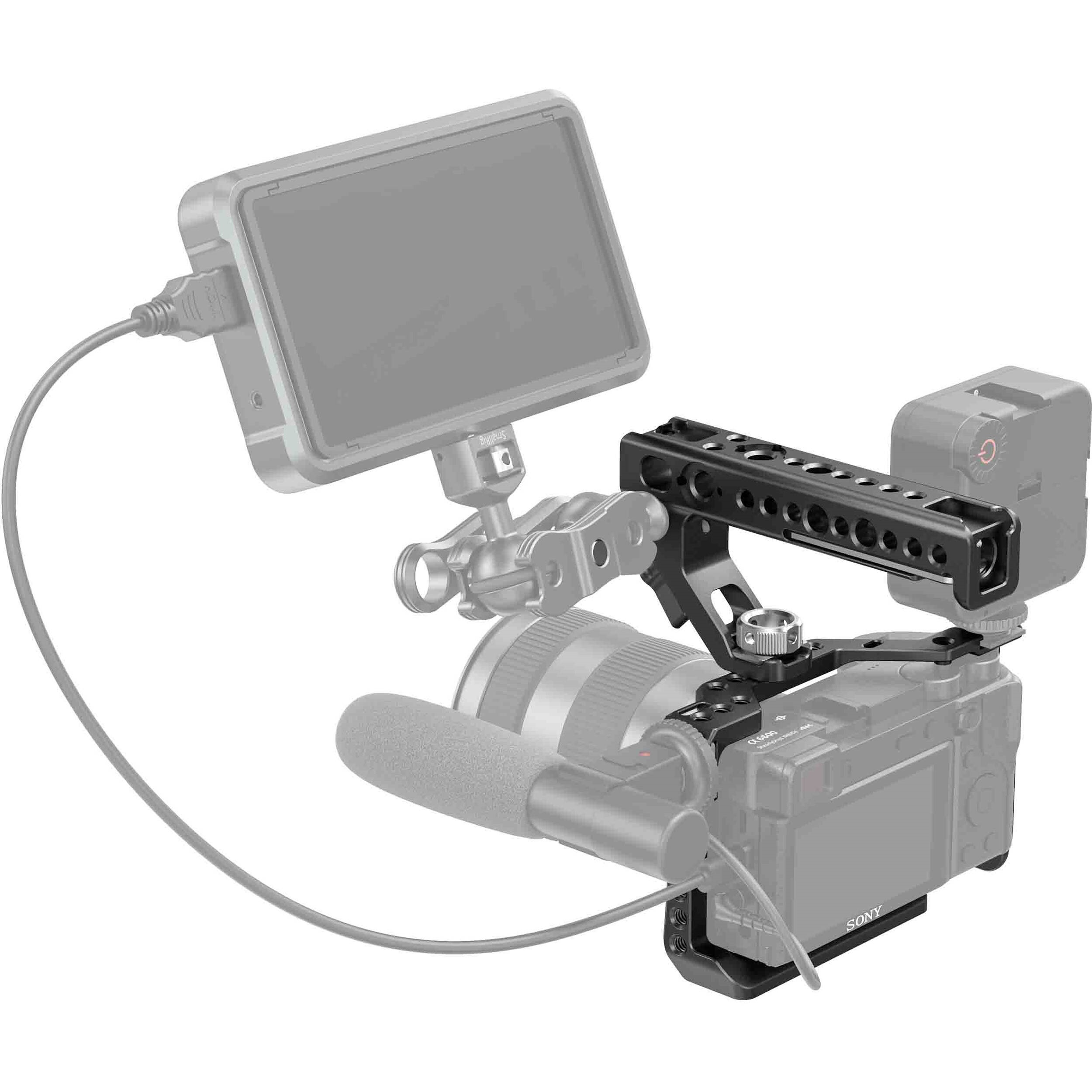 SmallRig Camera Cage and Top Handle Kit for Sony a6600