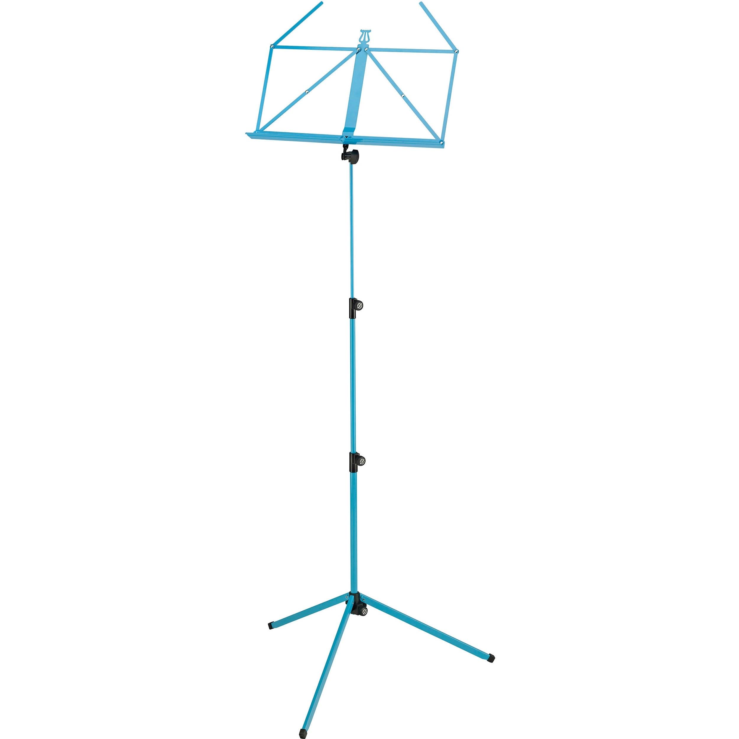 K&M 100/1 Music Stand (Ocean Blue)