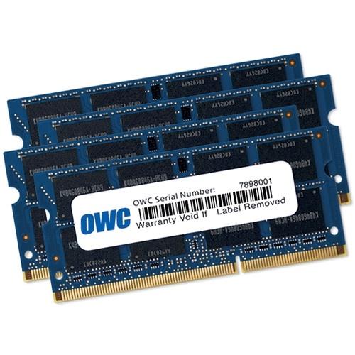 OWC 32GB DDR3 1867 MHz SO-DIMM Memory Kit (4 x 8GB, Late 2015 iMac Retina 5K)