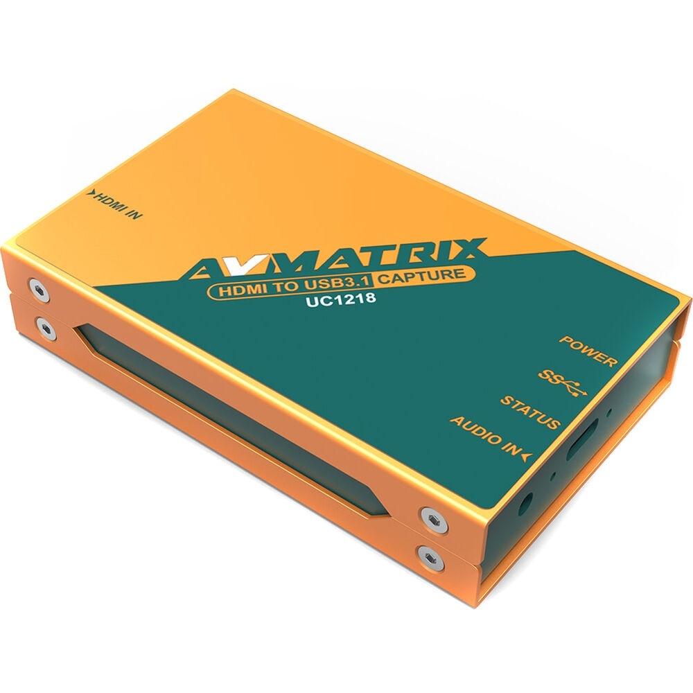 AV Matrix UC1218 HDMI to USB 3.0 Video Capture