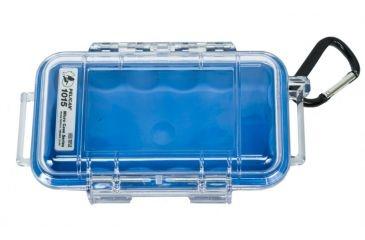 Pelican 1015 Micro Case (Blue/Clear)
