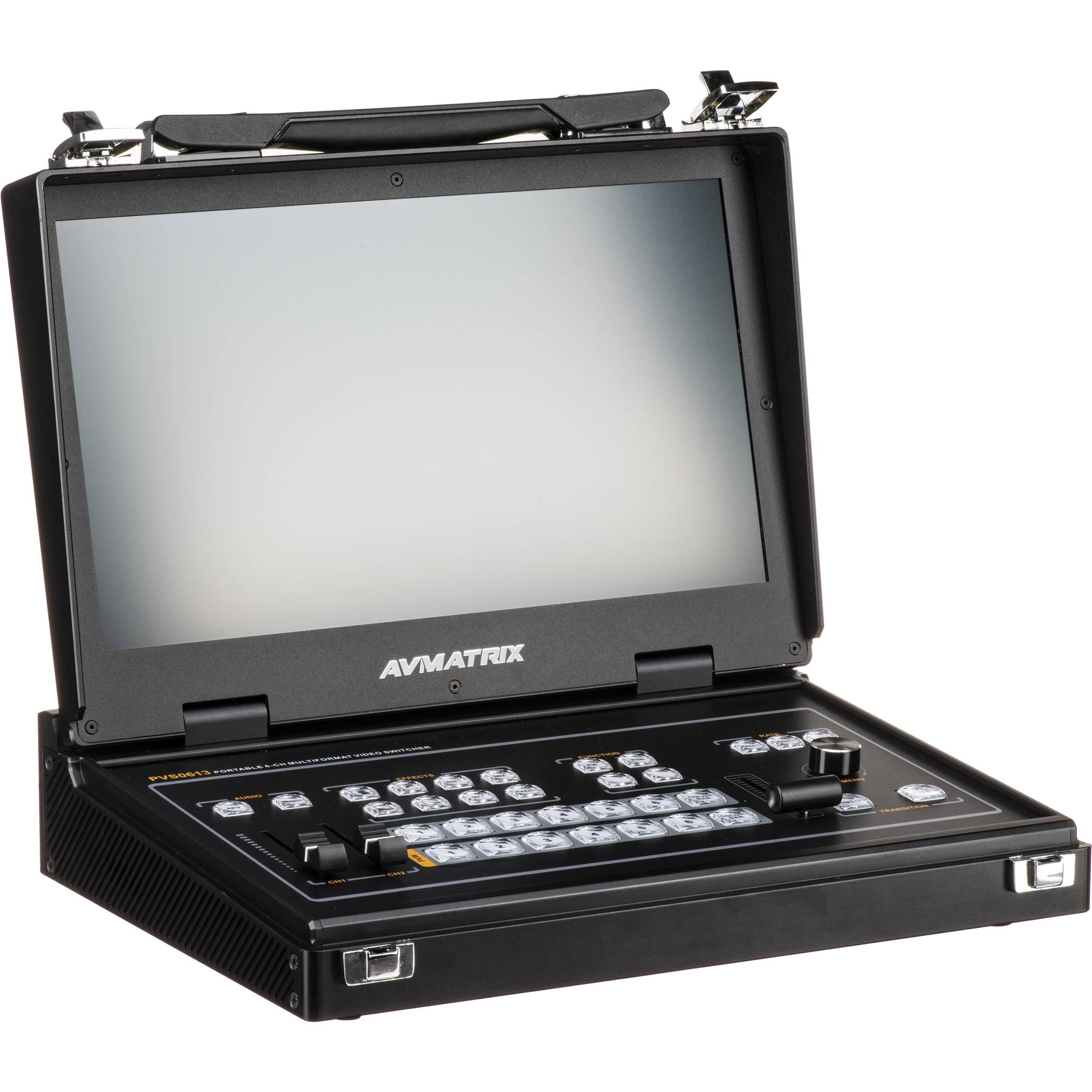 AV Matrix PVS0613 Portable 6-Channel SDI/HDMI Multi-Format Video Switcher