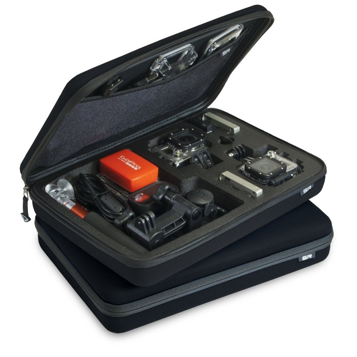 SP POV Case Large - GoPro Edition Black
