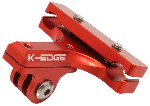 K-Edge Go Big GoPro Pro Saddle Rail Mount (Red)