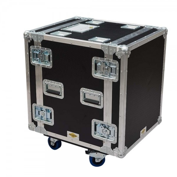 Roadcase 12RU Floating Rack Case