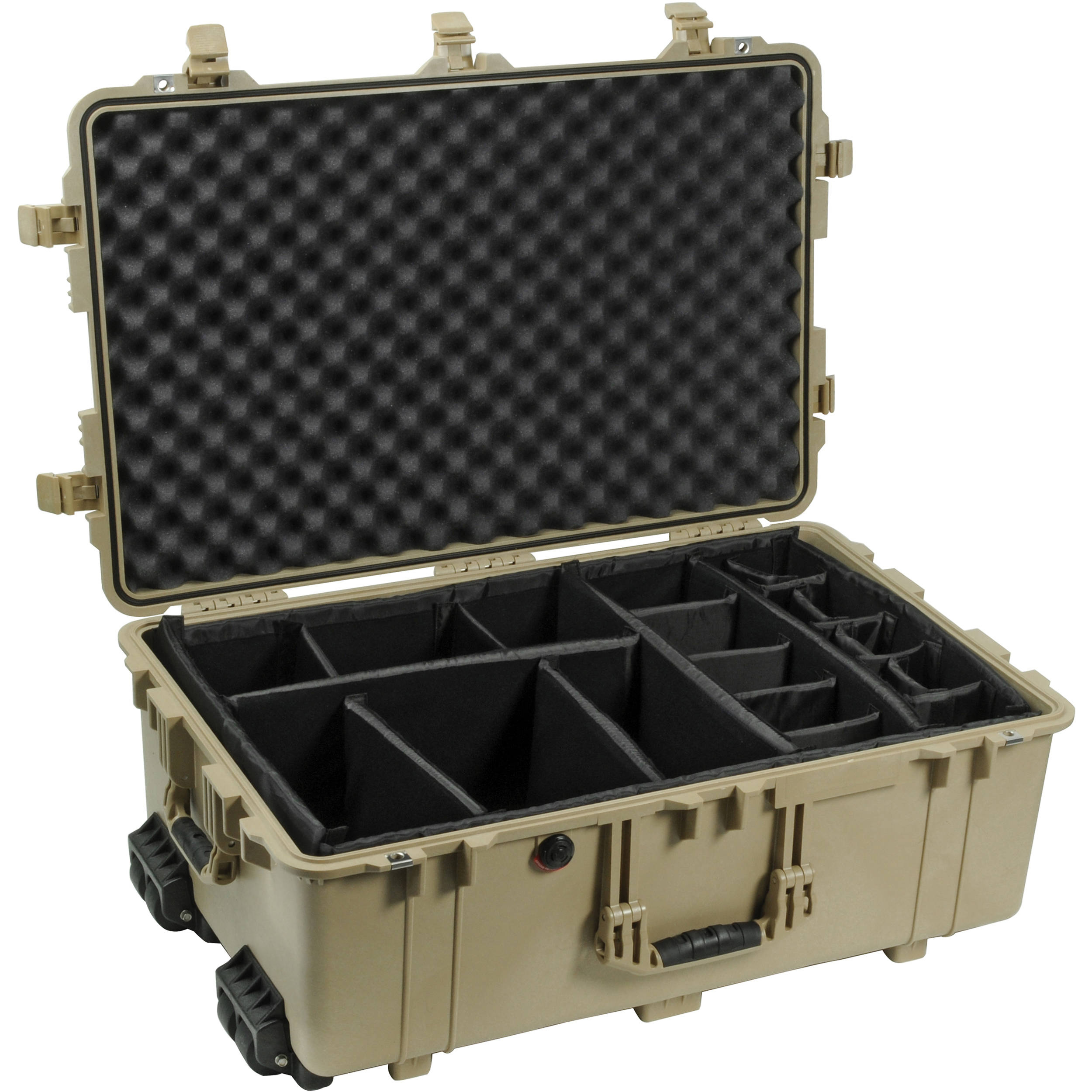 Pelican 1654 Case with Padded Dividers (Desert Tan)