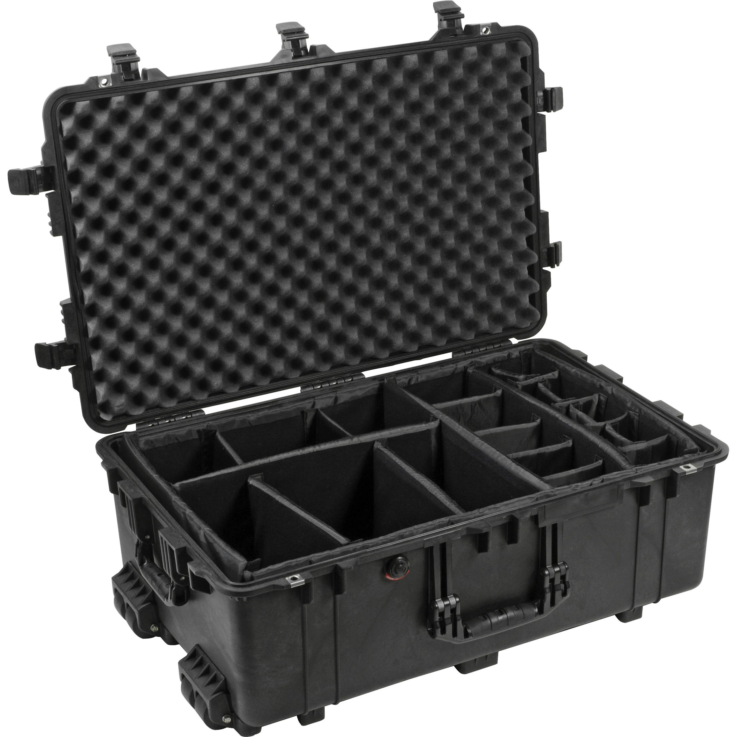 Pelican 1654 Case with Padded Dividers (Black)