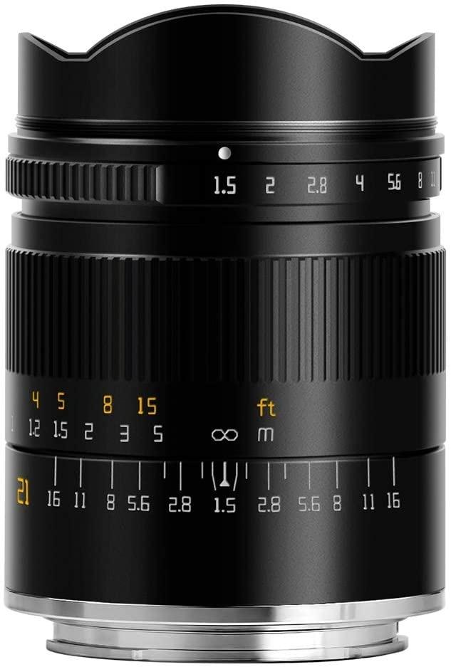 TTArtisan 21mm f/1.5 Lens for Sony E