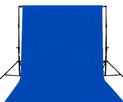 Chroma Blue Screen backdrop 6m x 3m