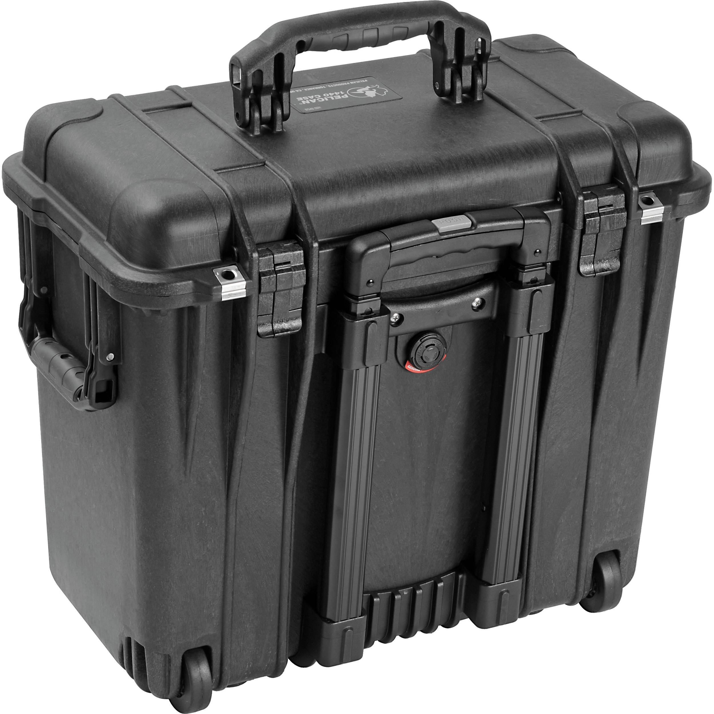 Pelican 1440 Top Loader Case without Foam (Black)