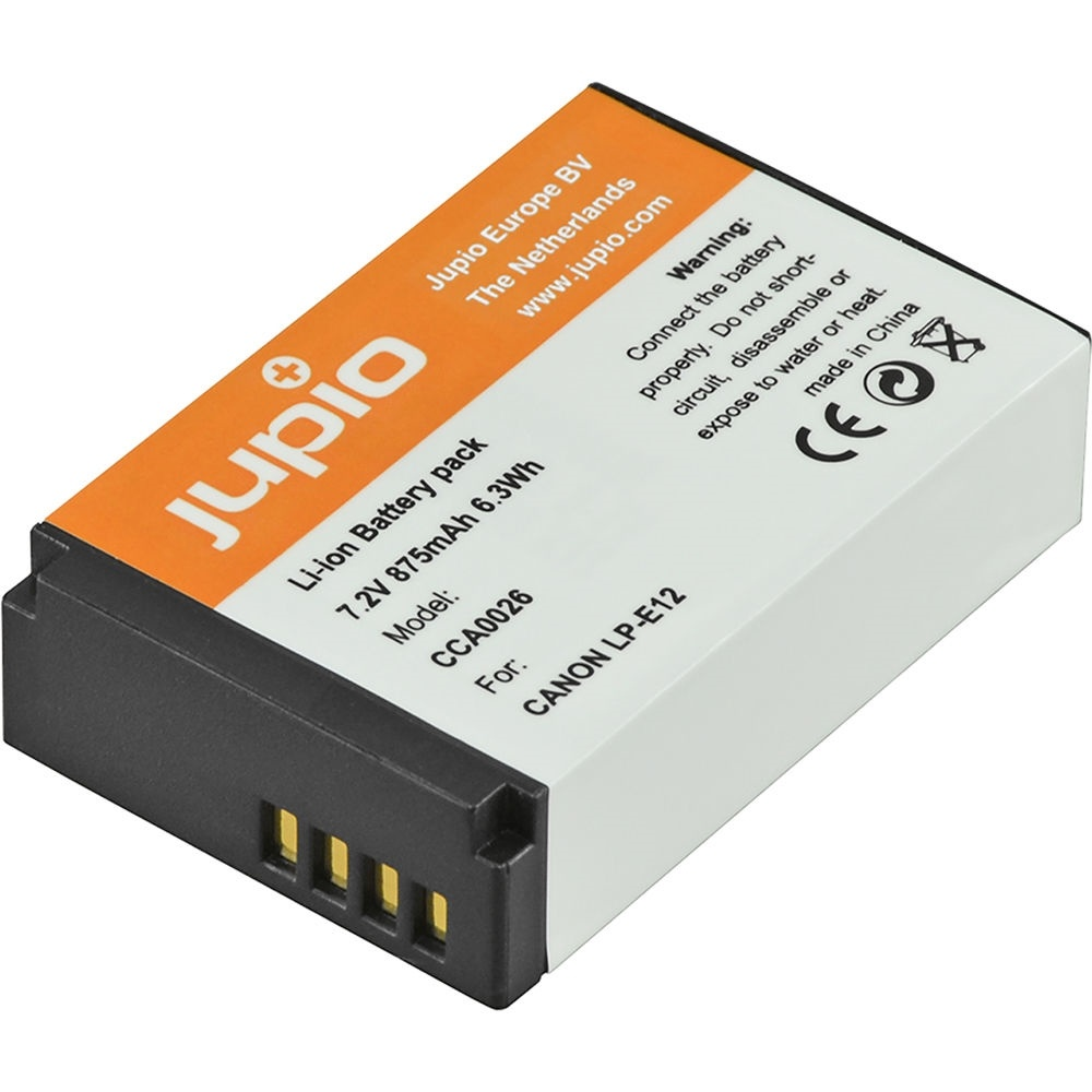 Jupio LP-E12 Lithium-Ion Battery Pack (7.2V, 875mAh)