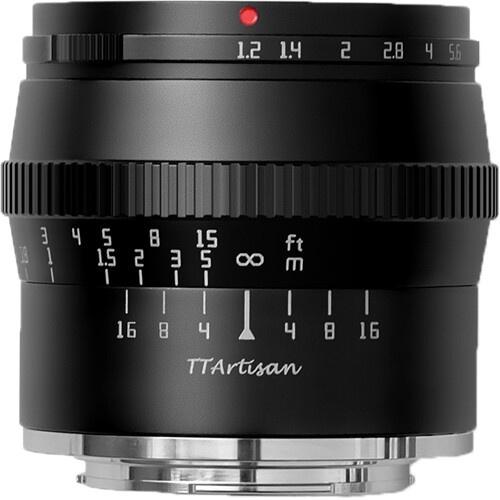 TTArtisan 50mm f/1.2 Lens for Fujifilm X