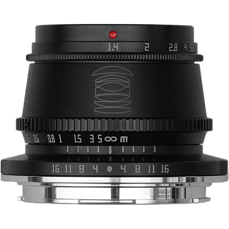 TTArtisan 35mm f/1.4 Lens for Leica L (Black)
