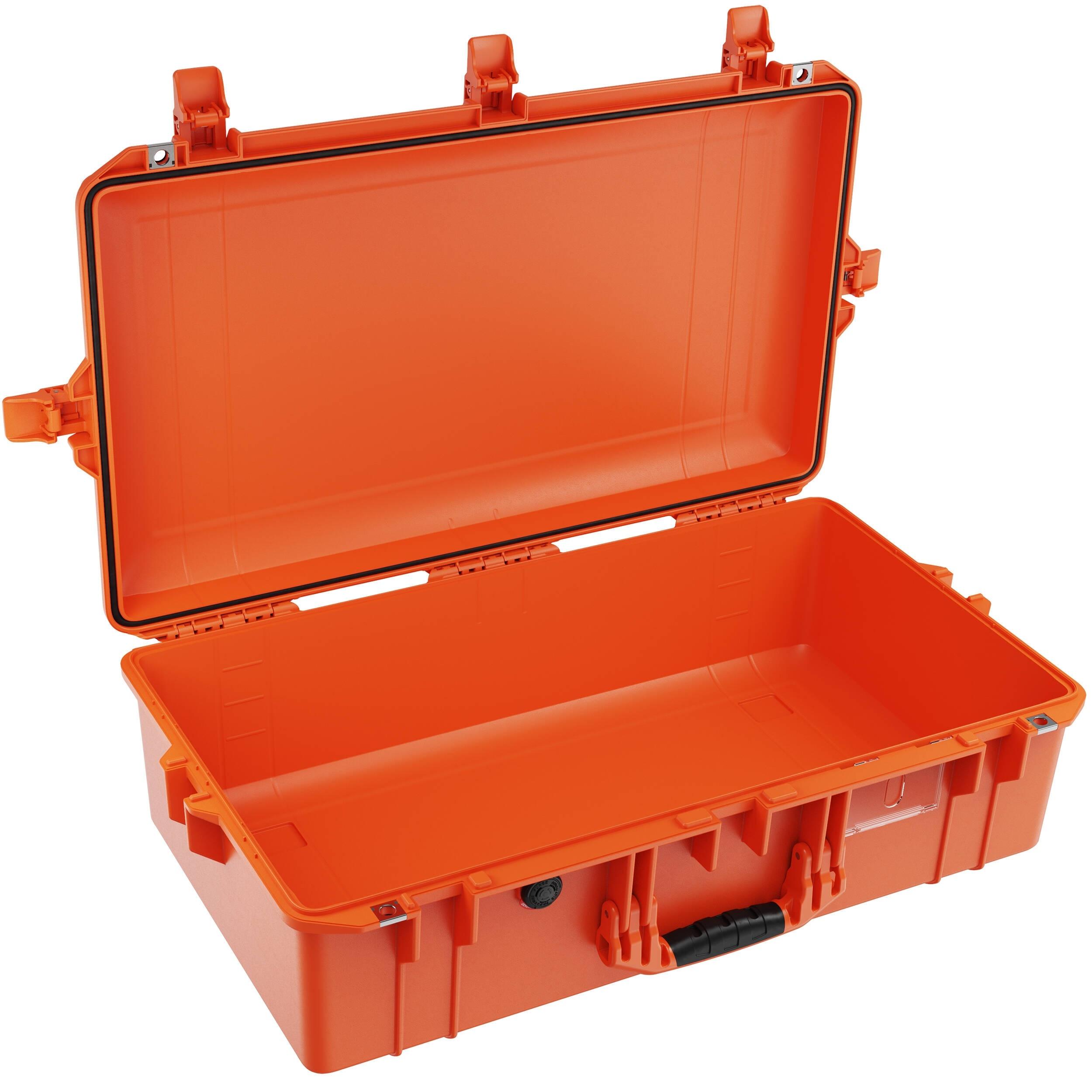 Pelican 1605Air Gen 2 Hard Carry Case with Liner, No Insert (Orange)