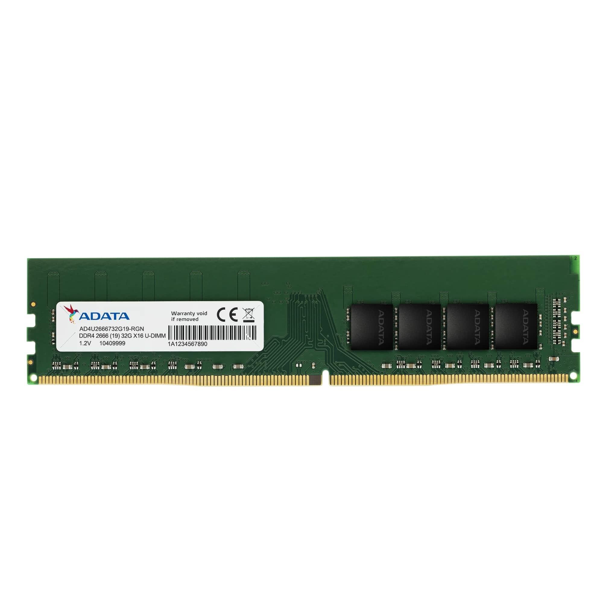 ADATA Premier DDR4 2666 U-DIMM Memory (8GB)