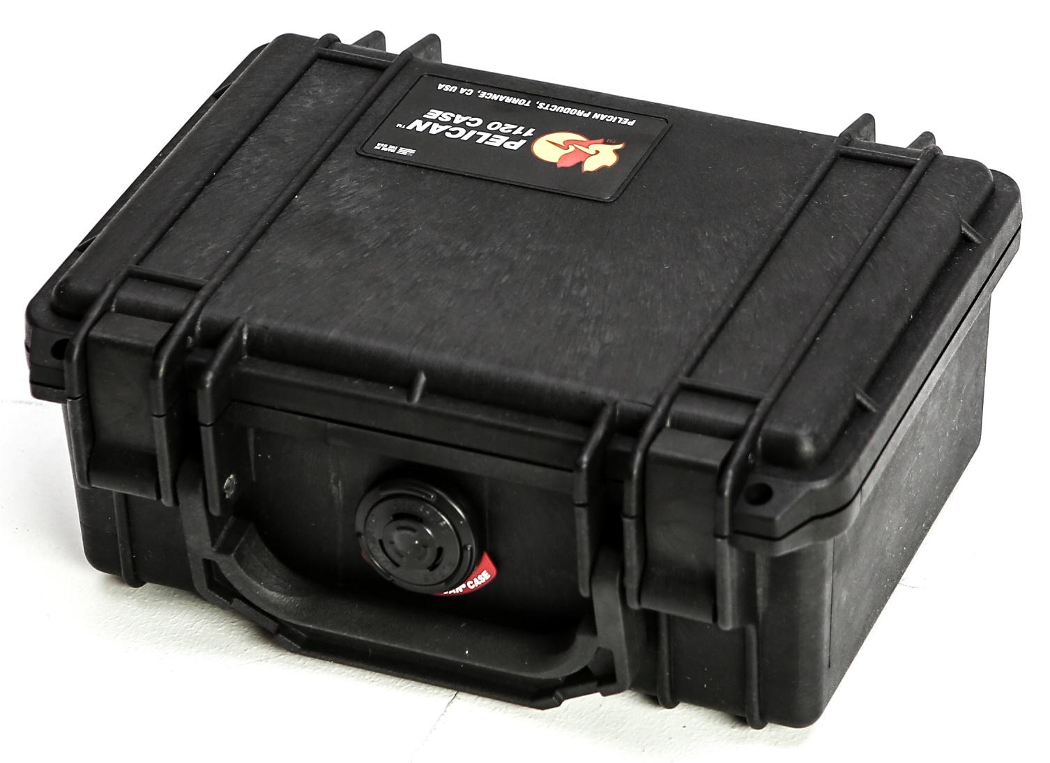 Pelican 1120 Case without Foam (Black)