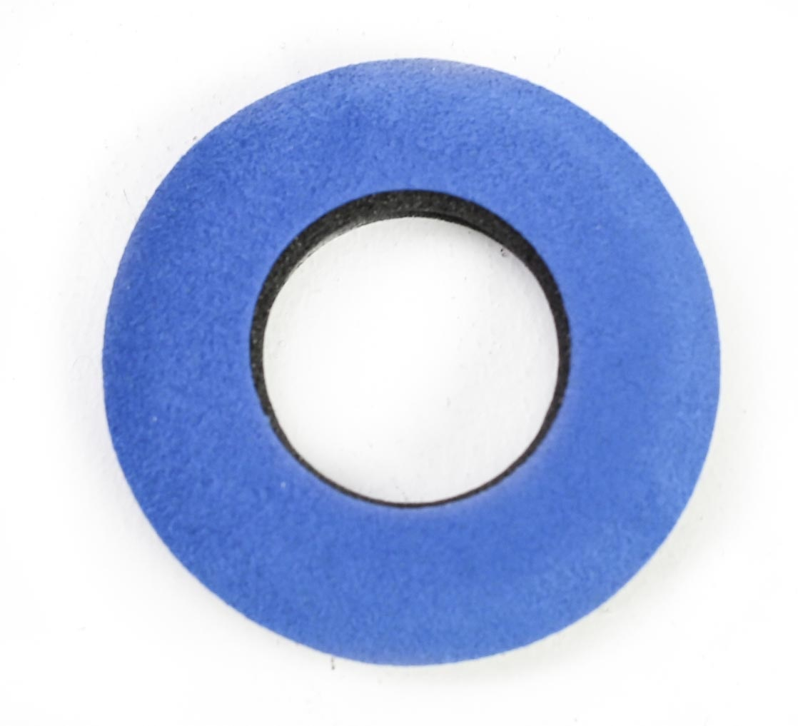 Bluestar Small Round Eyecushion - Microfibre (Blue)