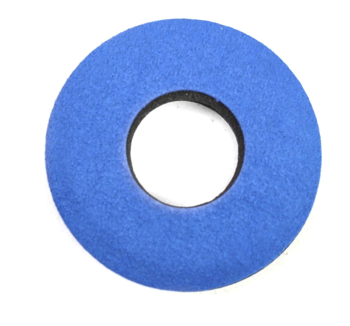 Bluestar Extra Small Round Eyecushion - Microfiber (Blue)