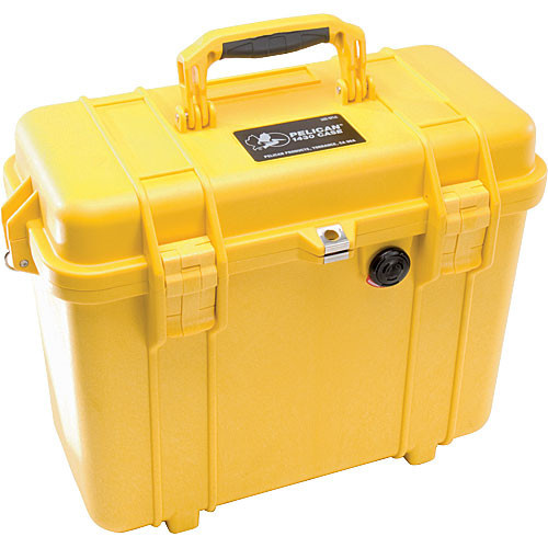 Pelican 1430 Top Loader Case (Yellow)