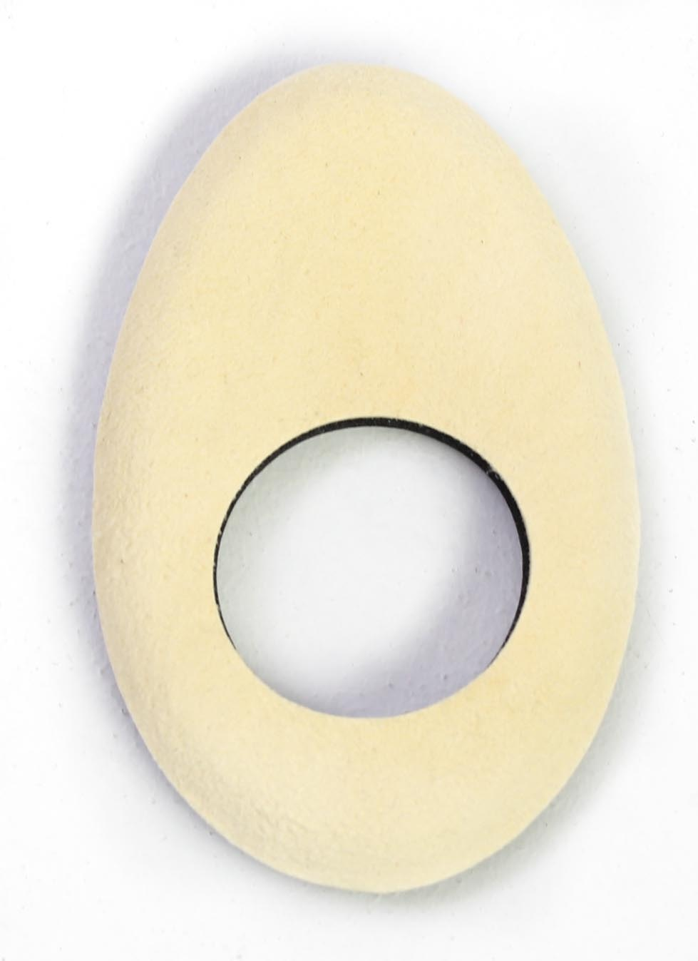 Bluestar Long Oval Eyecushion - Chamois