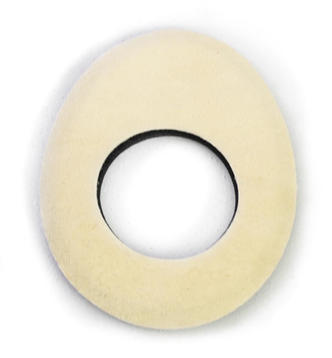 Bluestar Large Oval Eyecushion - Chamois