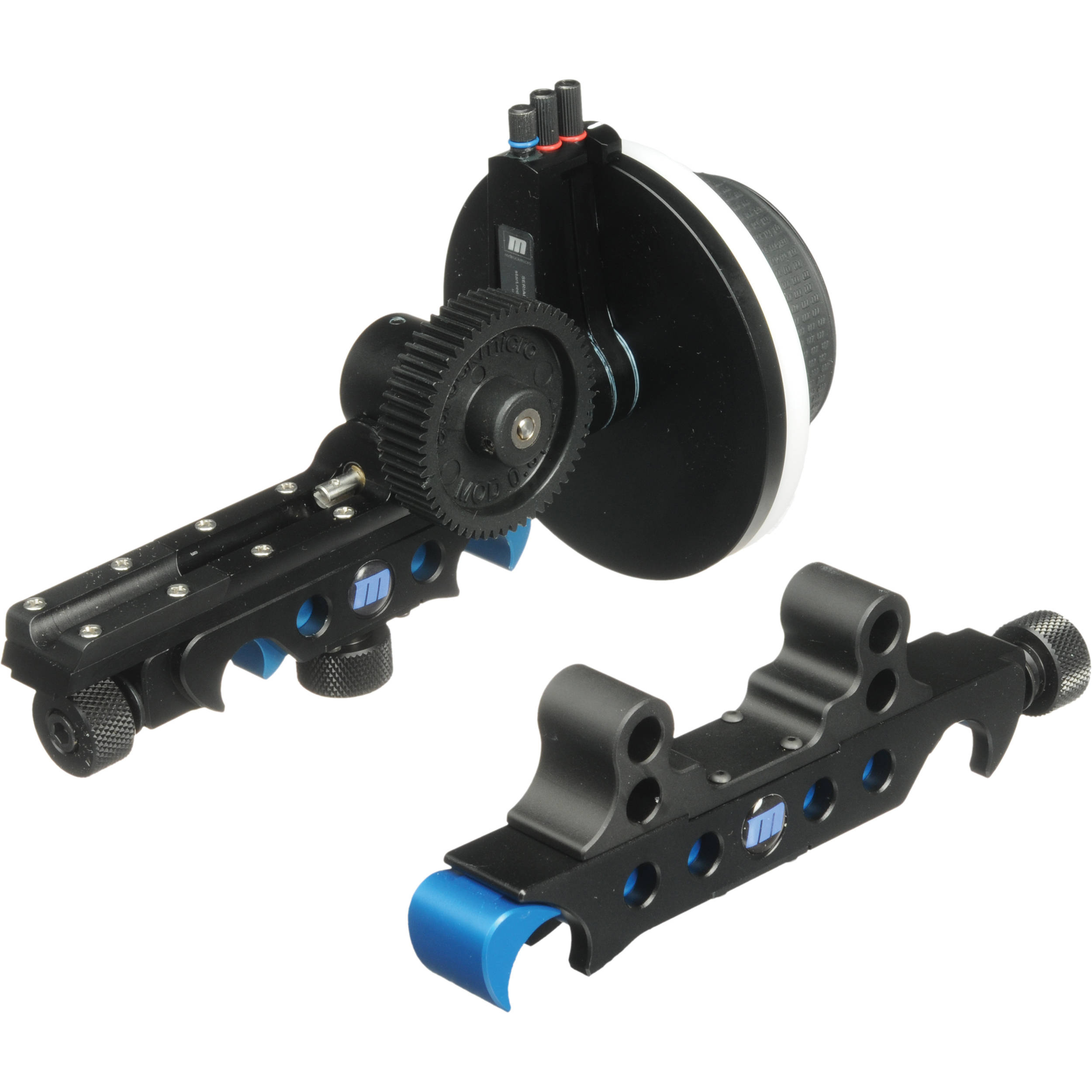 Redrock Micro MicroFollowFocus - Black 19mm Bundle