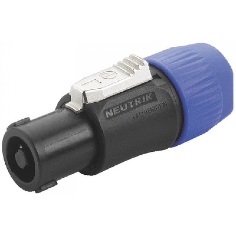 Neutrik NL4FC 4-Pole Speakon Cable Connector with Latch Lock
