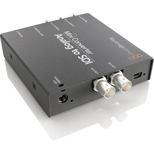 Blackmagic Design Analog to SDI Mini Converter
