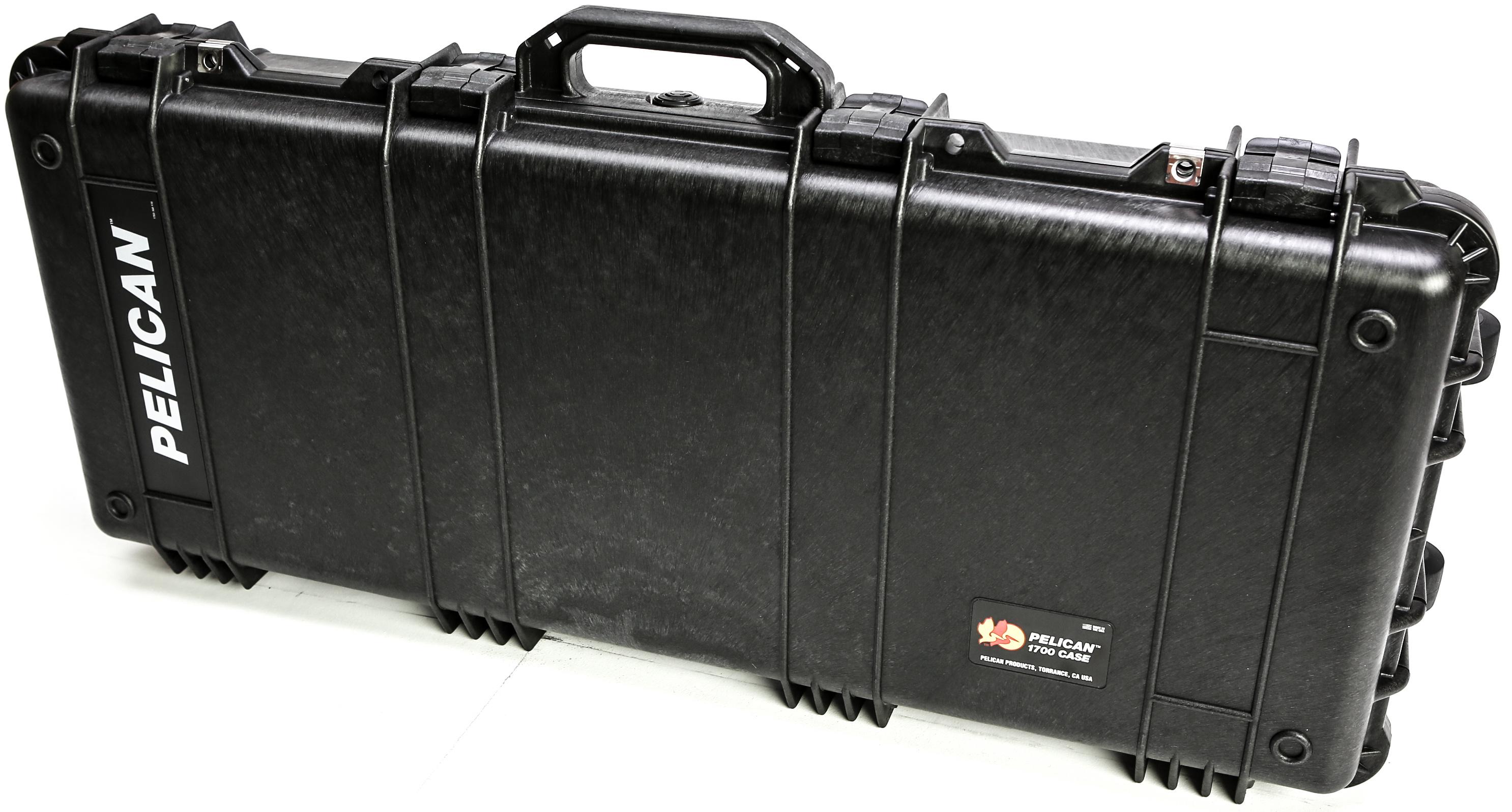 Pelican 1700 Long Case without Foam (Black)