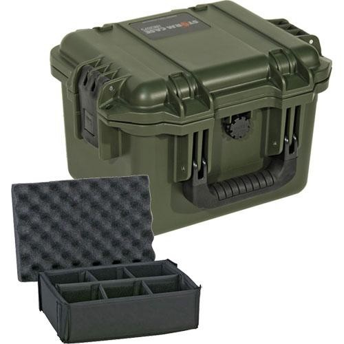 Pelican iM2075 Storm Case with Padded Dividers (Olive Drab Green)