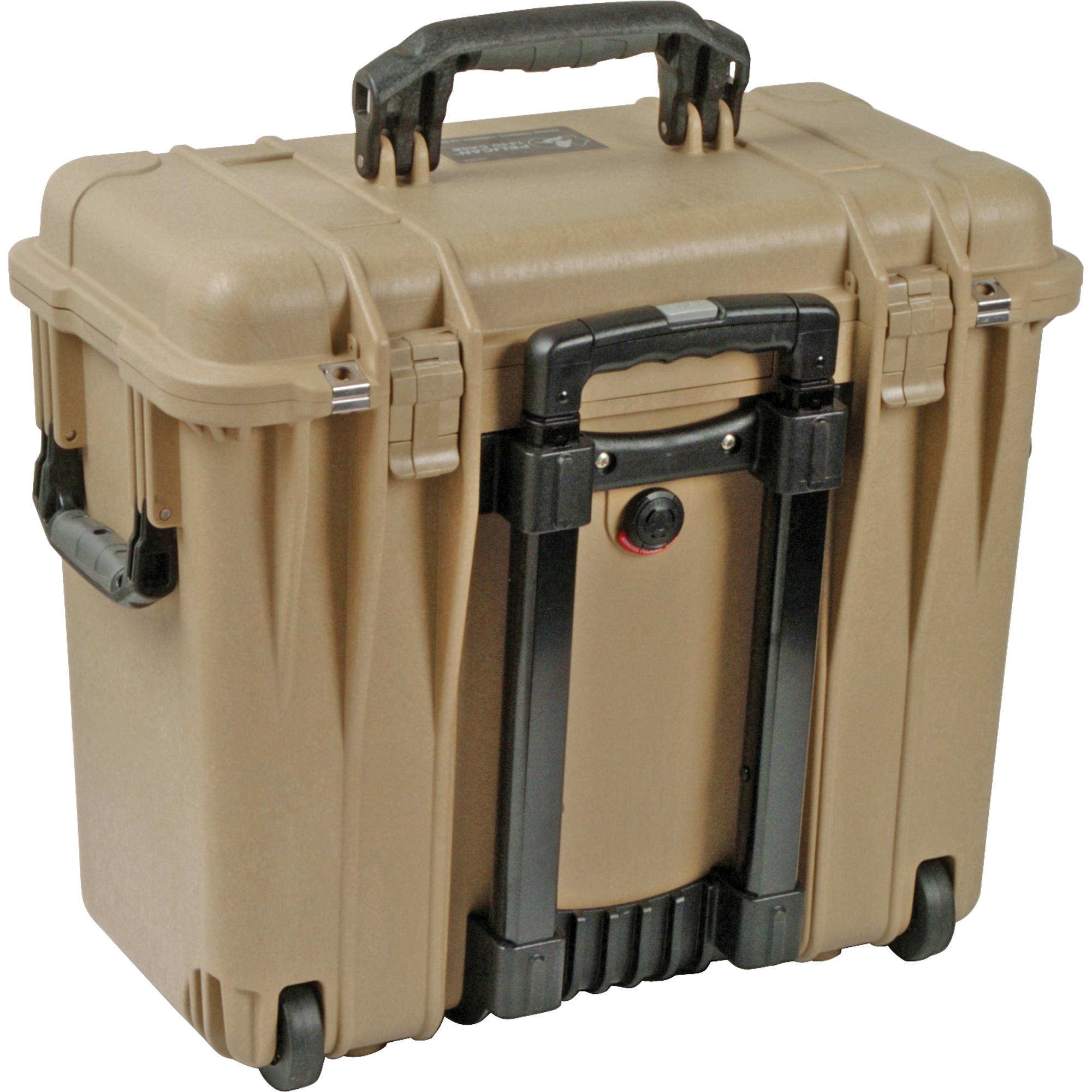 Pelican 1444 Top Loader Case with Photo Dividers (Desert Tan)