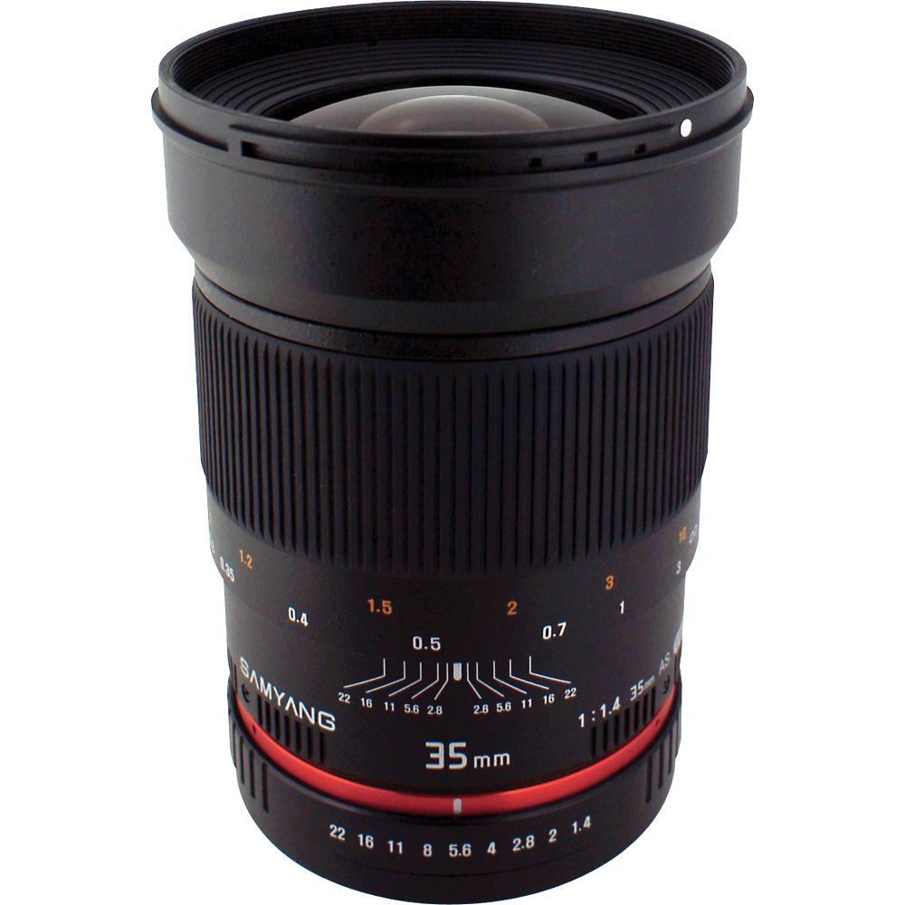 Samyang 35mm f/1.4 Wide-Angle US UMC Aspherical Lens (Nikon)